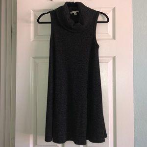 American Eagle Cowl Neck Gray Sweater Dress
